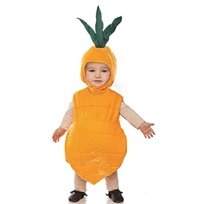Underwraps Carrot Girls Toddler Belly Baby Costume: Clothing