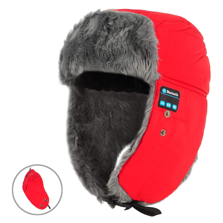 TYXQ Cuffie Bluetooth Senza Fili, Cuffie Musicali Winter Smart Cuffie con Maschere facciali Cuffie Mic Cuffie Bluetooth per Sistema iOS/Android