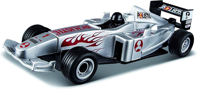 96017 Circuit de Voiture-Polistil-Champion Formula Racing Variable Bburago Maisto France