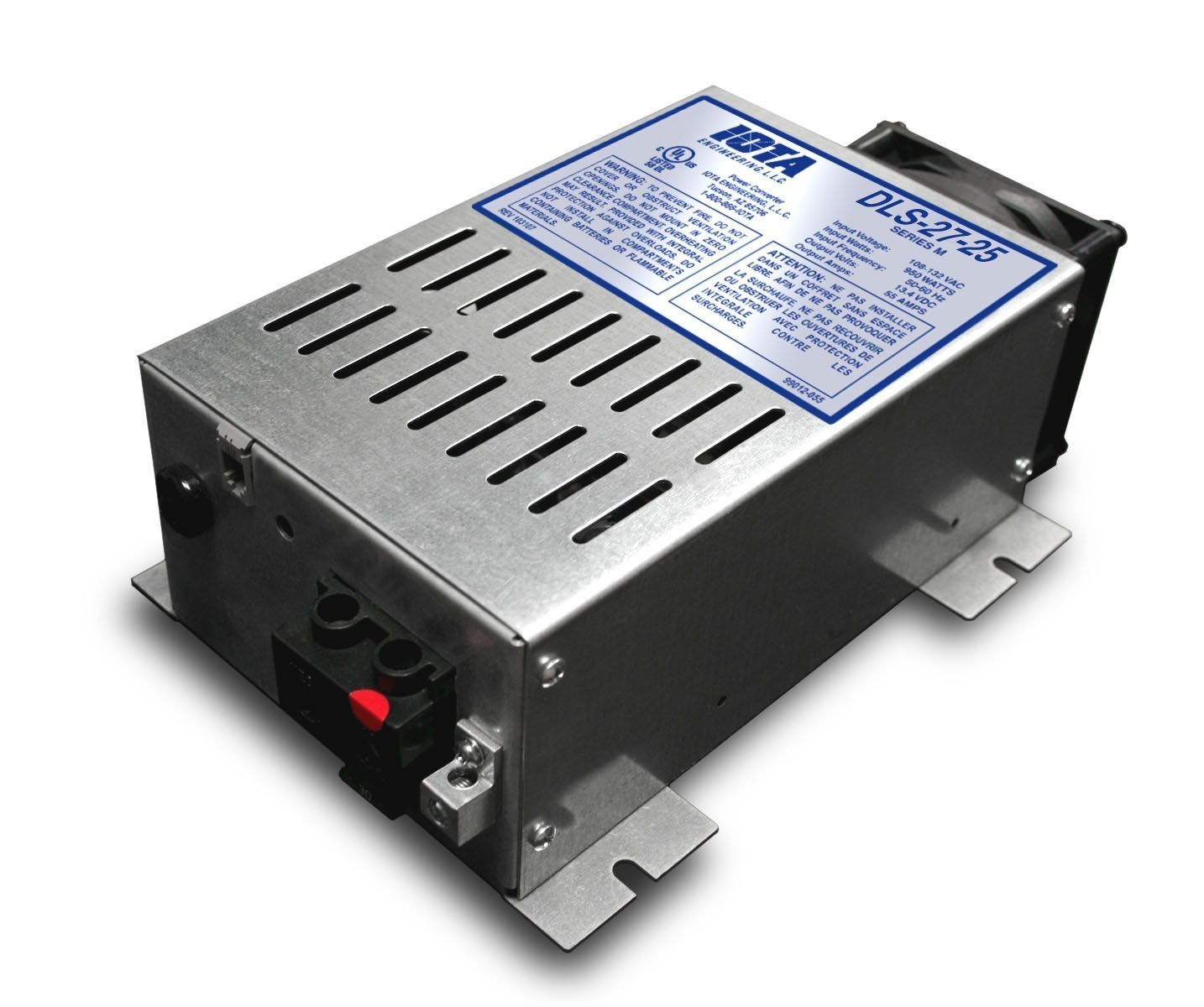 IOTA DLS-27-25 24 VOLT 25 AMP AUTOMATIC BATTERY CHARGER POWER SUPPLY