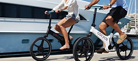 GoCycle G3, Black, Executive Versión con Guardabarros, Kit de luz y portaequipajes: Amazon.es: Deportes y aire libre