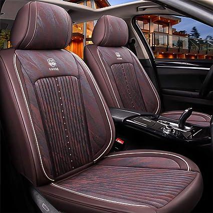i20 i30 Black Eco-Leather Universal  Front Seat Covers for Hyundai i10
