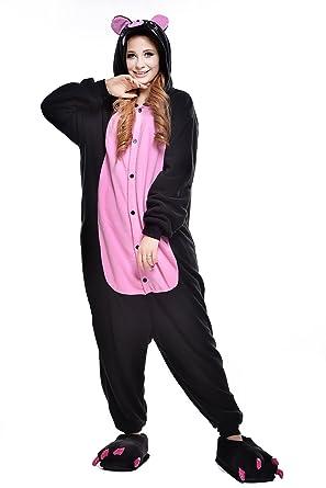 1f189cbfeb Amazon.com  Newcosplay Adult Pig Pajama Costume  Clothing