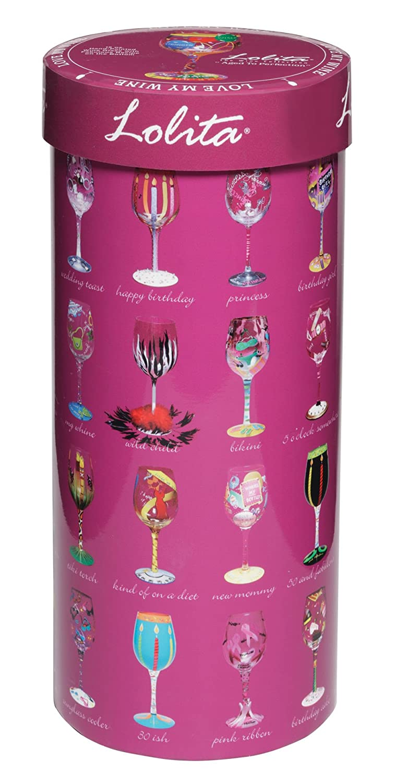 Flip Flops Lolita Love My Wine Glass