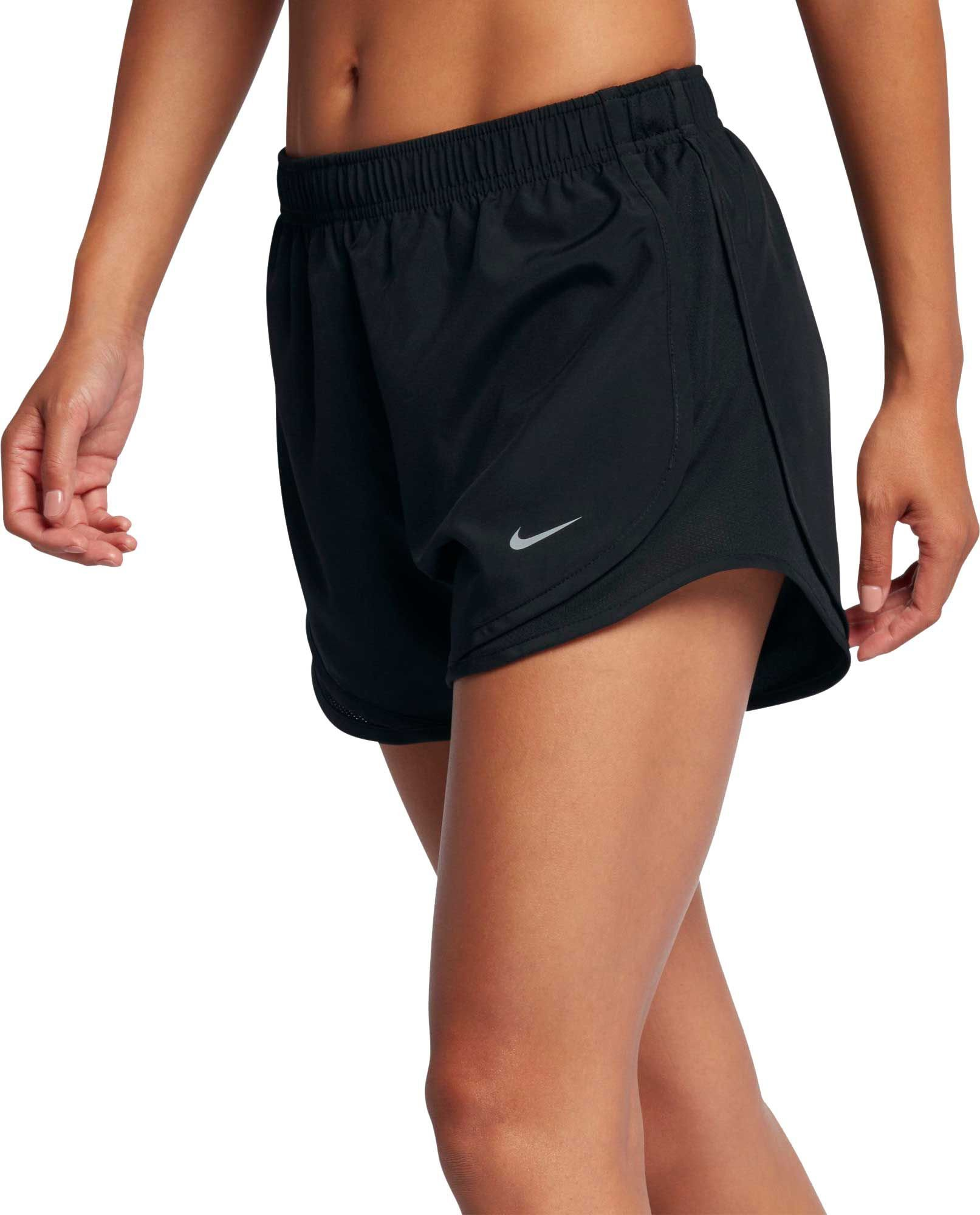Nike Women's 3'' Dry Tempo Core Running Shorts(Black/Black/Blk/Wolf Grey,XX-Large) by Nike