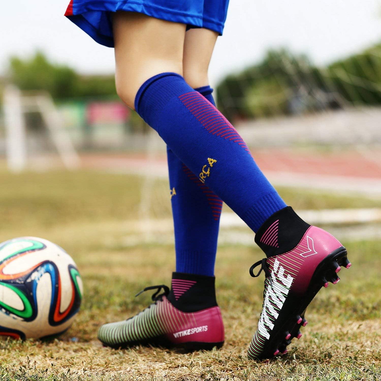 VITIKE Kids//Womens Turf Shoes Football//Soccer Baseball//Softball Cleats