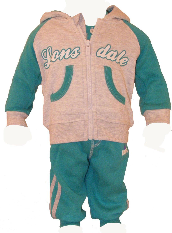 Lonsdale Baby jogger, Chándal, chaqueta, pantalones, T-Shirt Gris ...
