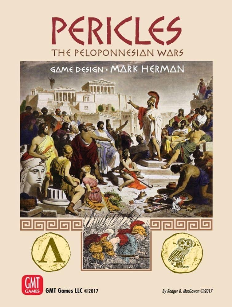GMT Games: Pericles: The Peloponnesian Wars 460-400 BC: Amazon.es: Juguetes y juegos