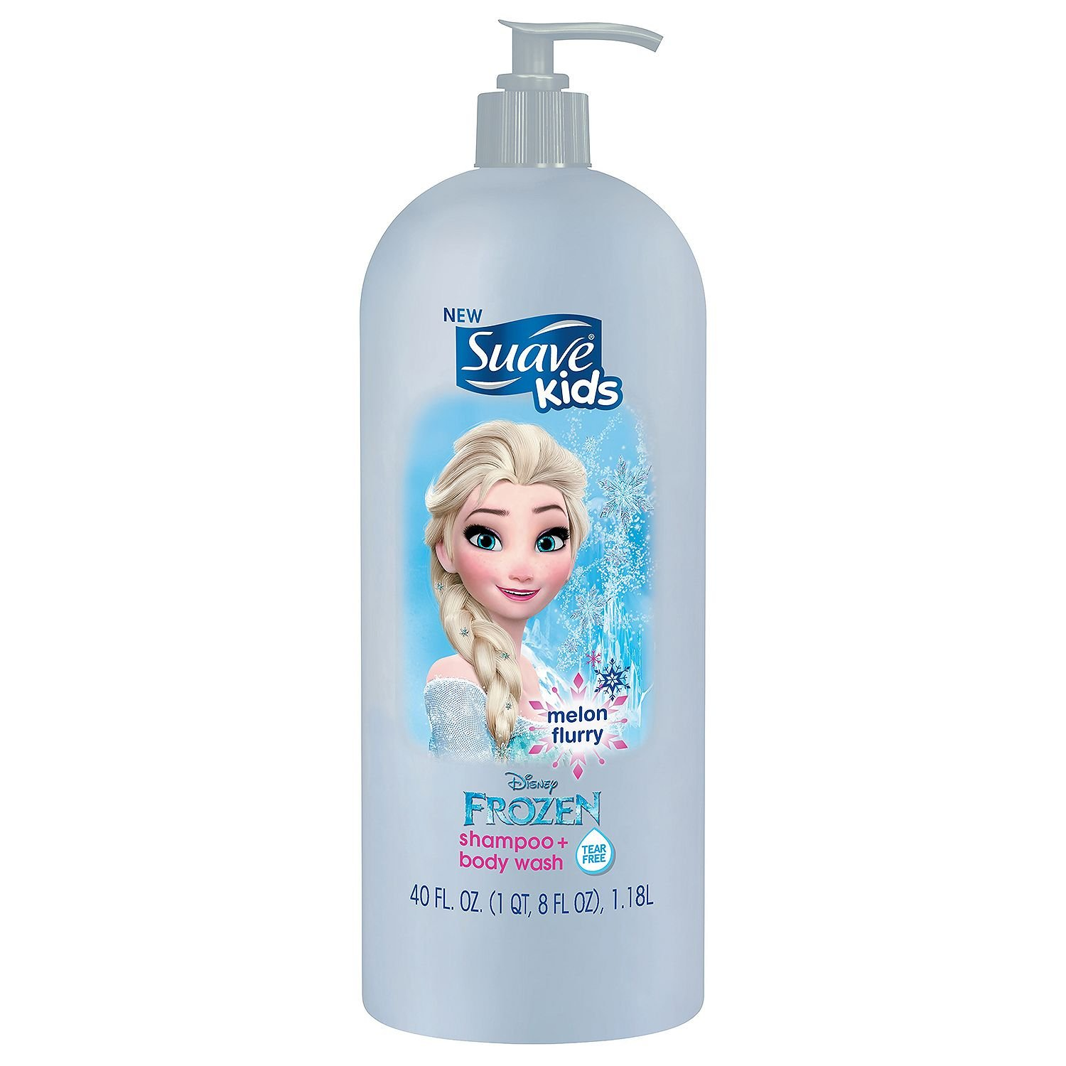 Suave Kids Shampoo & Body Wash, Melon Flurry (40 fl. oz.)