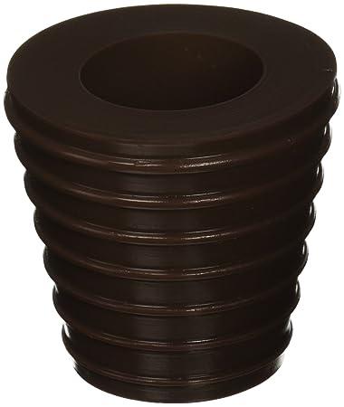 Elegant Patio Umbrella Cone (Brown) Fits 1.5u0026quot; Umbrella. Weather Resistant  Polyurethane. The