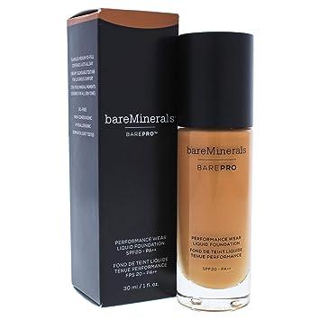baeb30a8a8a Amazon.com : bareMinerals Barepro Performance Wear Liquid Foundation SPF 20  for Women, 26 Chai, 1 Ounce : Beauty