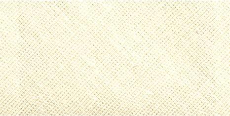 Wrights 117-100-028 Bias Hem Facing Tape Oyster 2.5-Yard