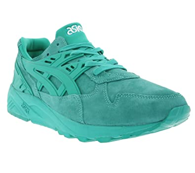 6bf3f99ccea5 ASICS - Baskets basses - Homme - Sneakers Gel Kayano Trainer Ocean Vert  pour homme -