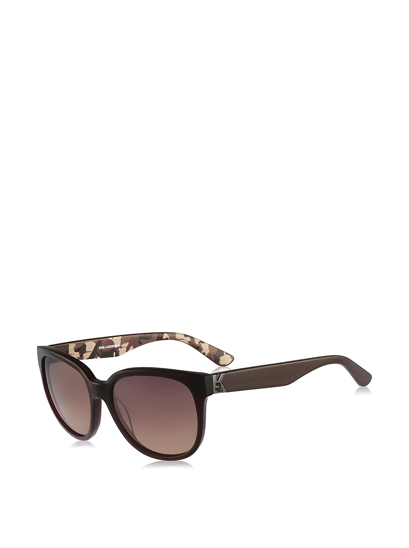 Karl Lagerfeld Gafas de Sol Kl847S (55 mm) Marrón: Amazon.es ...