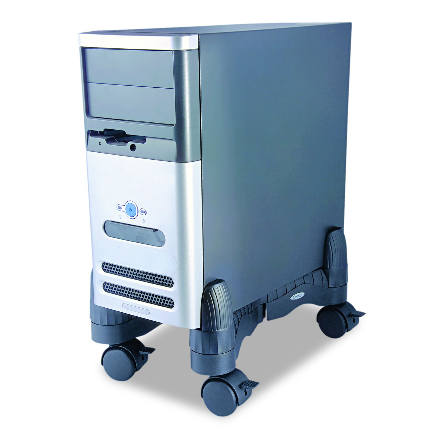 Industrial Computer Cabinet Amazoncom Kantek Cs200b Mobile Stand For Cpu Computers