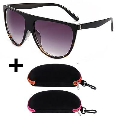 Lunettes de soleil façon Céline (brun, noir)  Amazon.fr  Vêtements et  accessoires 7f7cdb2b88a1