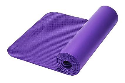 Yoga Mat extra grueso 10 mm antideslizante Pilates ...