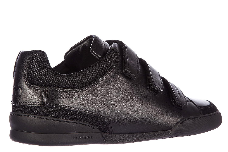Dior Chaussures Baskets Sneakers Homme en Cuir b18 Noir EU 43 3SN114VQH   Amazon.fr  Chaussures et Sacs d736a5c9122
