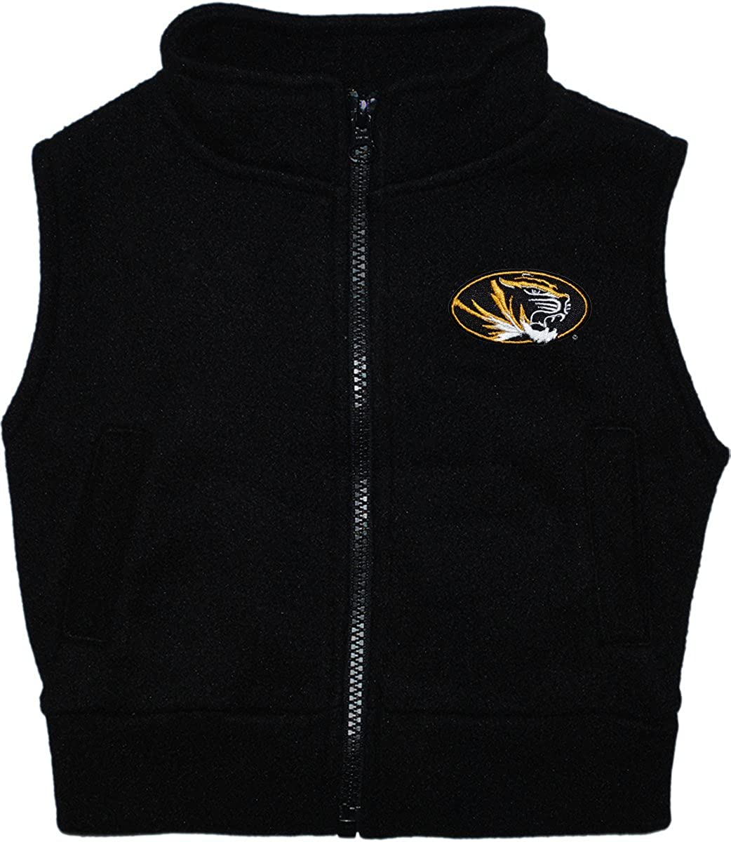 University of Missouri Tigers Baby and Toddler Polar Fleece Vest