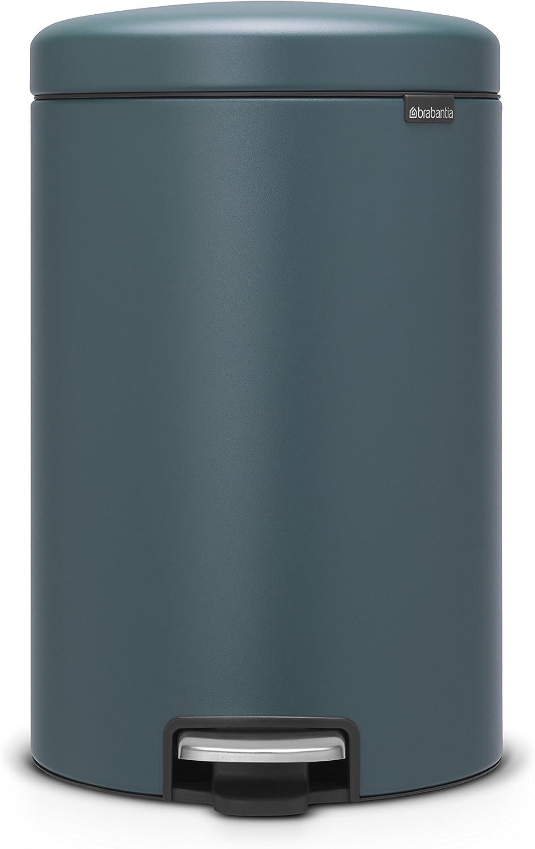 Brabantia Newicon Treteimer Mülleimer Abfalleimer Kunststoffeinsatz Weiß 20 L