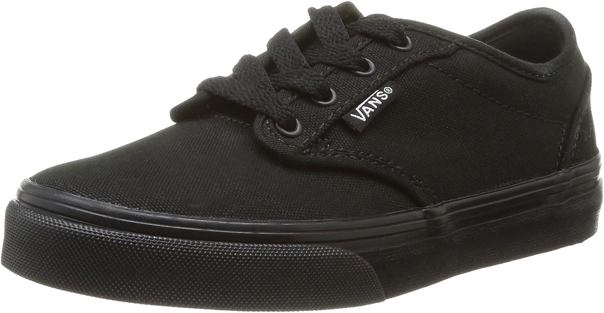 Vans Atwood, Unisex-Kinder Sneakers, Schwarz ((Canvas) Black/ 186 ...
