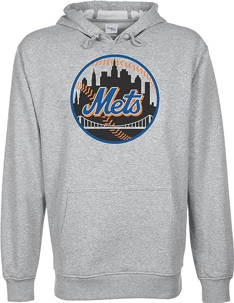 New, York, Mets Equipo de béisbol, con Capucha Sudadera Unisex Gris Gris Small: Amazon.es: Ropa y accesorios