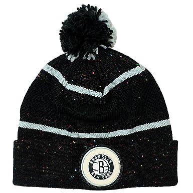 4ab35233a03 Amazon.com  Brooklyn Nets Mitchell   Ness Current Speckled Cuff Knit ...