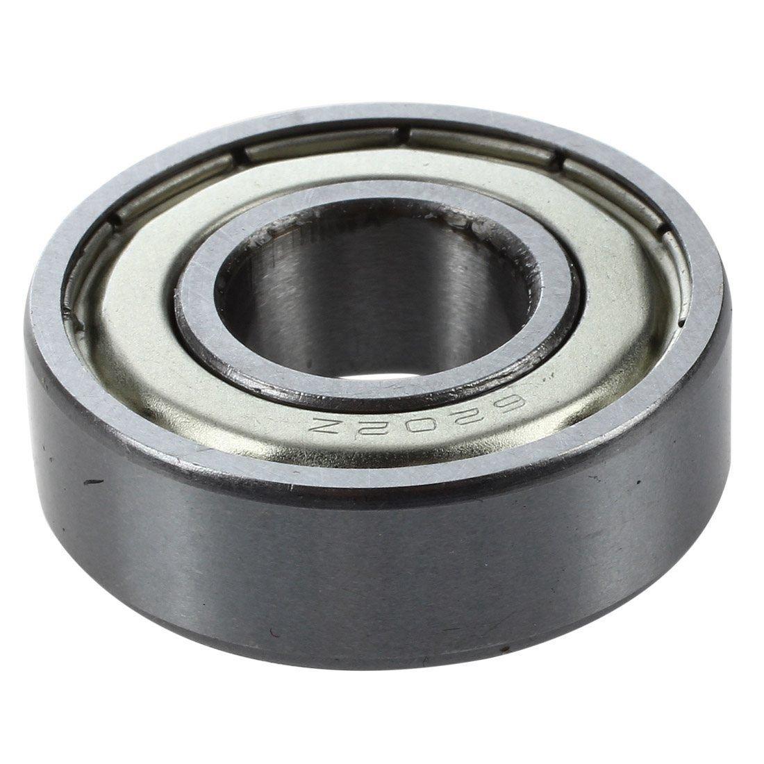 TOOGOO 6202Z Dual Metal Shields Pair Deep Groove Radial Ball Bearing 15 x 35 x 11mm R