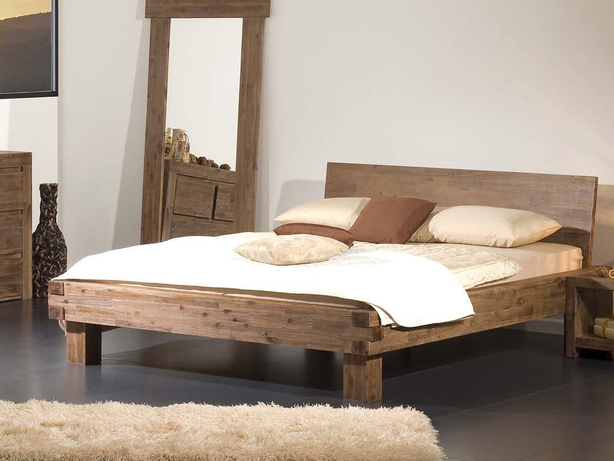 massivholzbett bett doppelbett jugendbett ehebett einzelbett tagesbett massiv sandrin 180 x 200. Black Bedroom Furniture Sets. Home Design Ideas