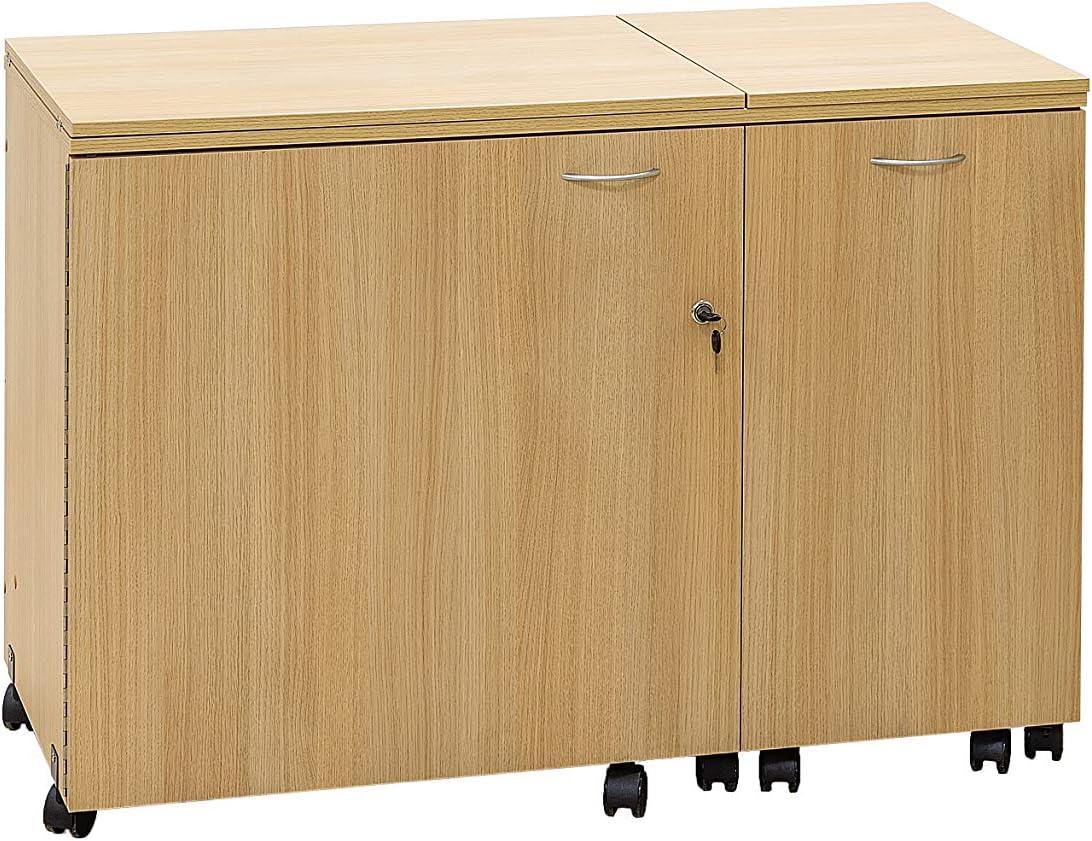 Comfort 3 | Mueble para máquina de coser | (Beech Ellmau, L (Air ...