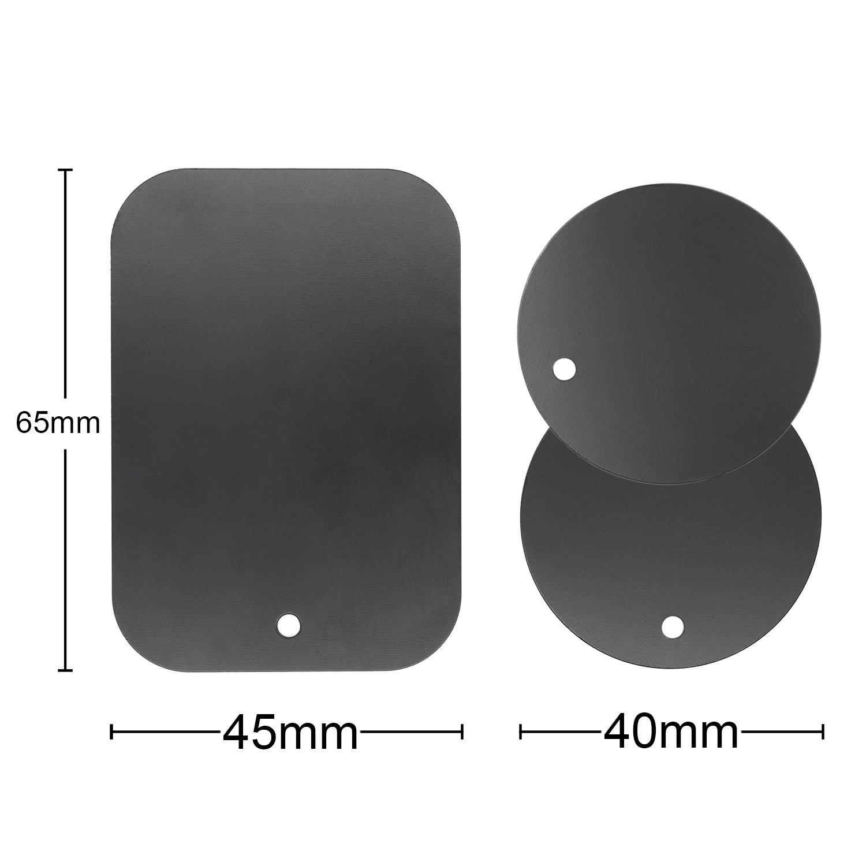 mobilefox/® Auto Magnet Handy Halterung 3in1 Set Micro-USB S10e S9 S8 Plus Note 8 Typ C Ladekabel Adapter Kompatibel Mit Samsung Galaxy S10 S10
