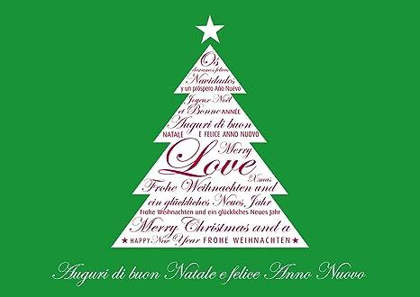 Auguri Di Buon Natale Francese.Disponibile In 1 4p Set Di 8 Portafoglio Auguri Scheda
