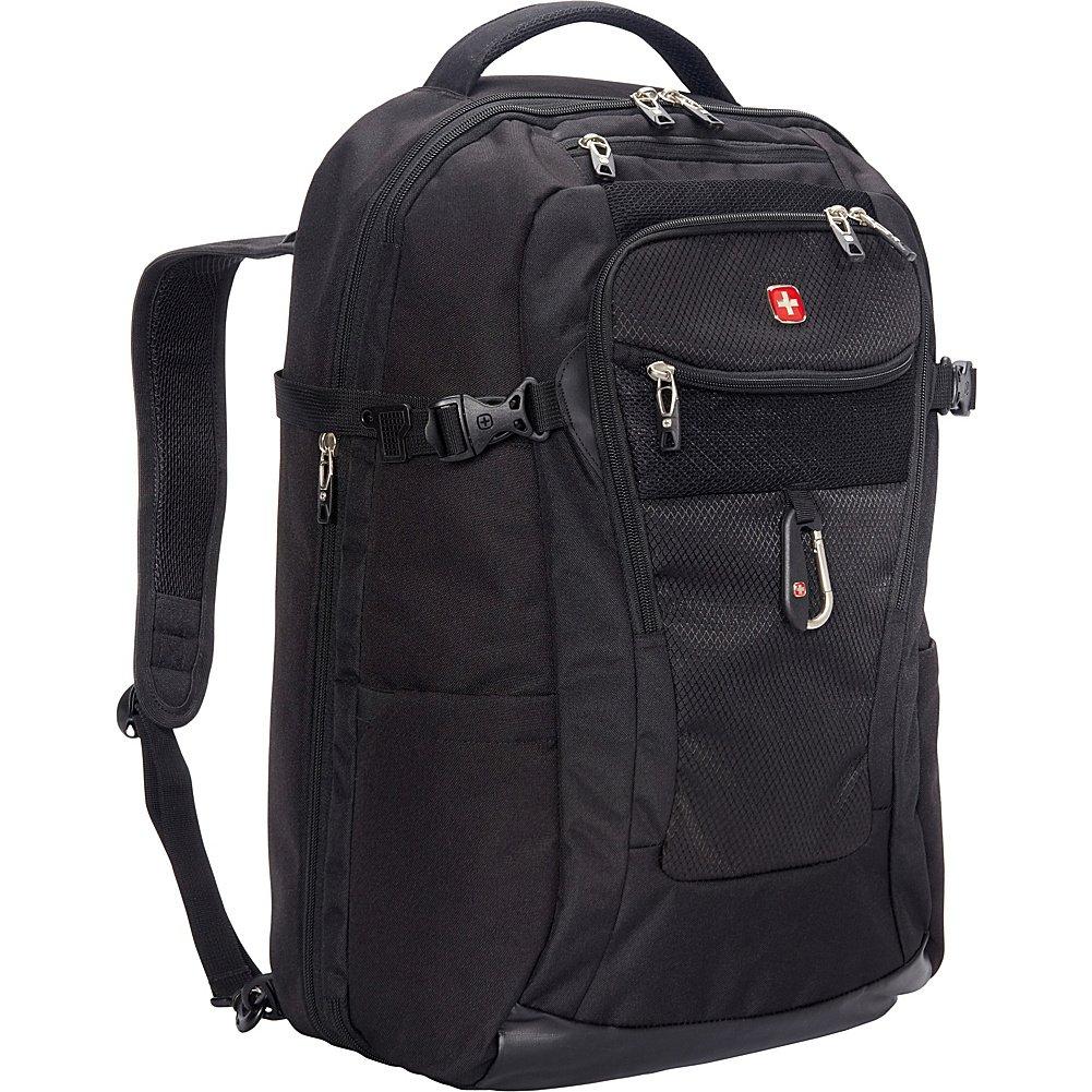 SwissGear TSA Approved 15 Inch Laptop Backpack Travel Gear 1900 - (Black) by Swiss Gear