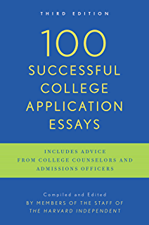 Amazon.com: 100 Successful College Application Essays (Second ...
