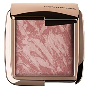 Hourglass Ambient Lighting Blush. Mood Exposure Shade Highlighting Blush with Pigment and Powder.