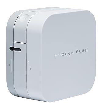 Máquina etiquetadora Brother P-Touch Cube: Amazon.es: Oficina y papelería