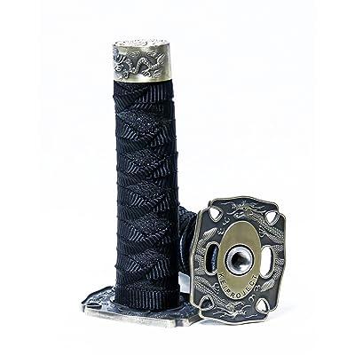 Kei Project Katana Samurai Sword Shift Knob Shifter Katana VIP Metal Weighted with Adapters Fits Most Cars (Black): Automotive