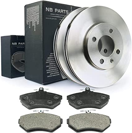 NB Parts Alemania 10038325/ frenos Set Delantero de freno freno /Ø 262/ MM Completo pastillas de freno VA Kit
