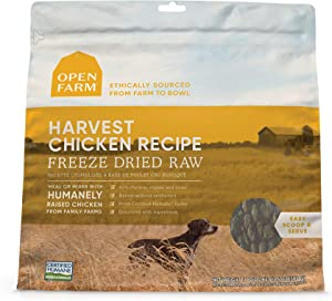 Open Farm Freeze Dried Raw Dog Food, Humanely Raised Meat Recipe with Non-GMO Superfoods and No Artificial Flavors or Preservatives, 13.5 oz
