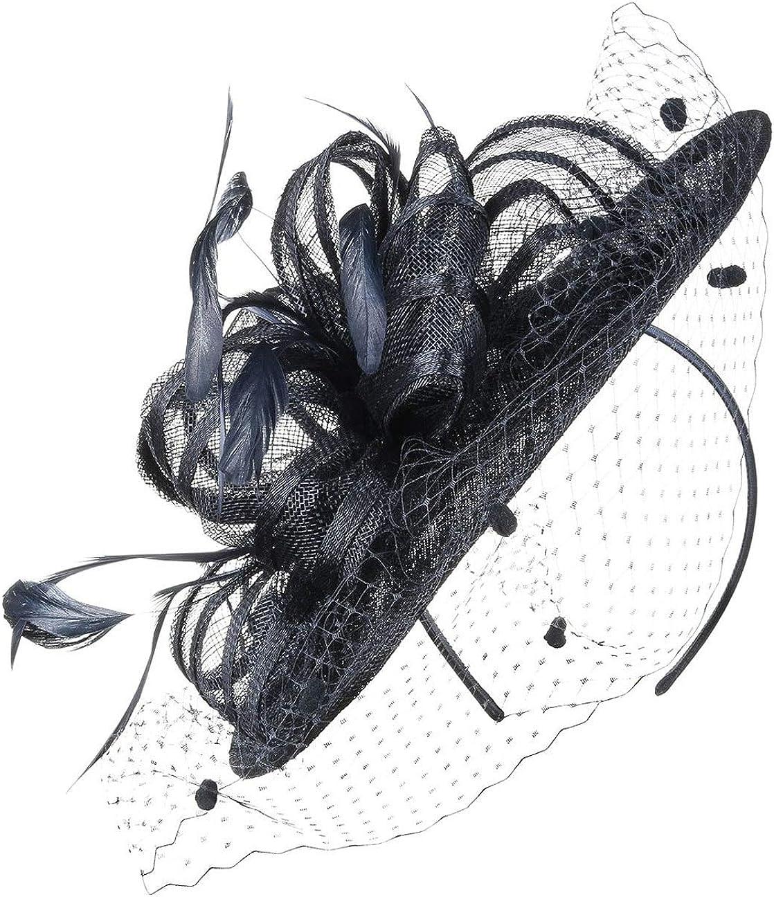SEEBERGER Alicia Fascinator Haarschmuck Kopfschmuck Anlasshut Hüte