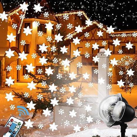 DeeCozy Proyector Luces de la Navidad,110-225V Efecto de Luces LED ...