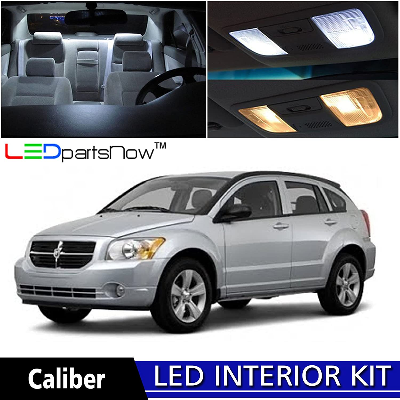 Amazon.com: LEDpartsNow 2007-2012 Dodge Caliber LED Interior Lights  Accessories Replacement Package Kit (6 Pieces), WHITE: Automotive
