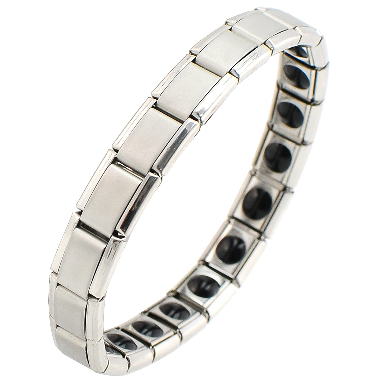 LADIES Carejoy Titanium /& Germanium 20 Stone Bio Energy Healing Bracelet BANGLE MENS
