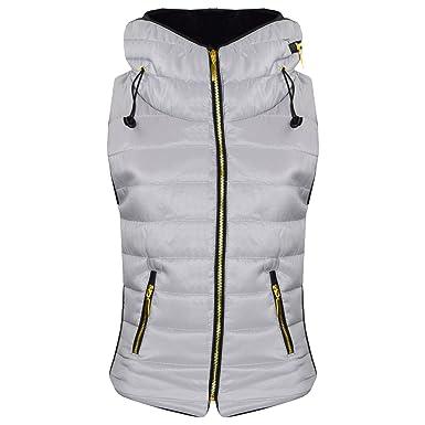 1a47038dc A2Z 4 Kids® Kids Girls Boys Designer's Silver Sleeveless Hooded ...