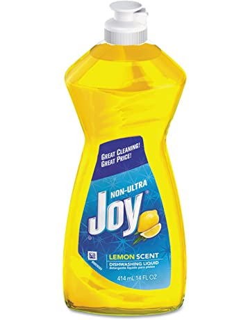 Joy 21737 Dishwashing Liquid, 14 oz Bottle, Lemon Scent (Case of 25)