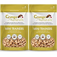 Crumps' Naturals Mini Trainers Freeze Dried Beef Liver (1 Pack), 50g/1.8 oz (2 Pack)