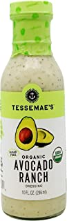 product image for Tessemae's Organic Avocado Ranch Dressing, 10 oz