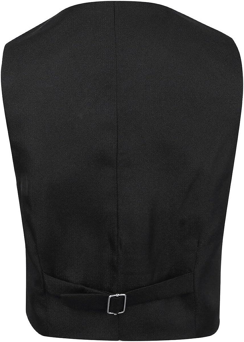 Agoky Kids Boys Gentleman Suit Formal Tuxedo Dress Vest Wedding Waistcoat Birthday Party
