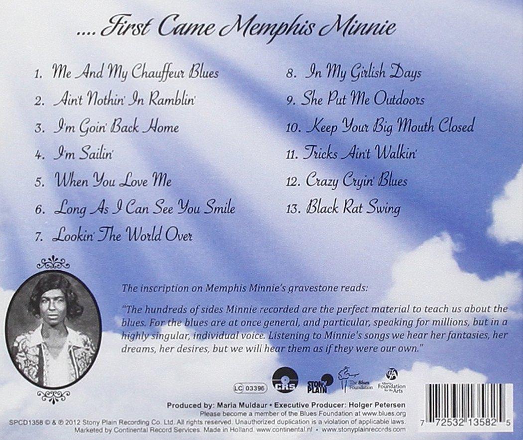 ...First Came Memphis Minnie