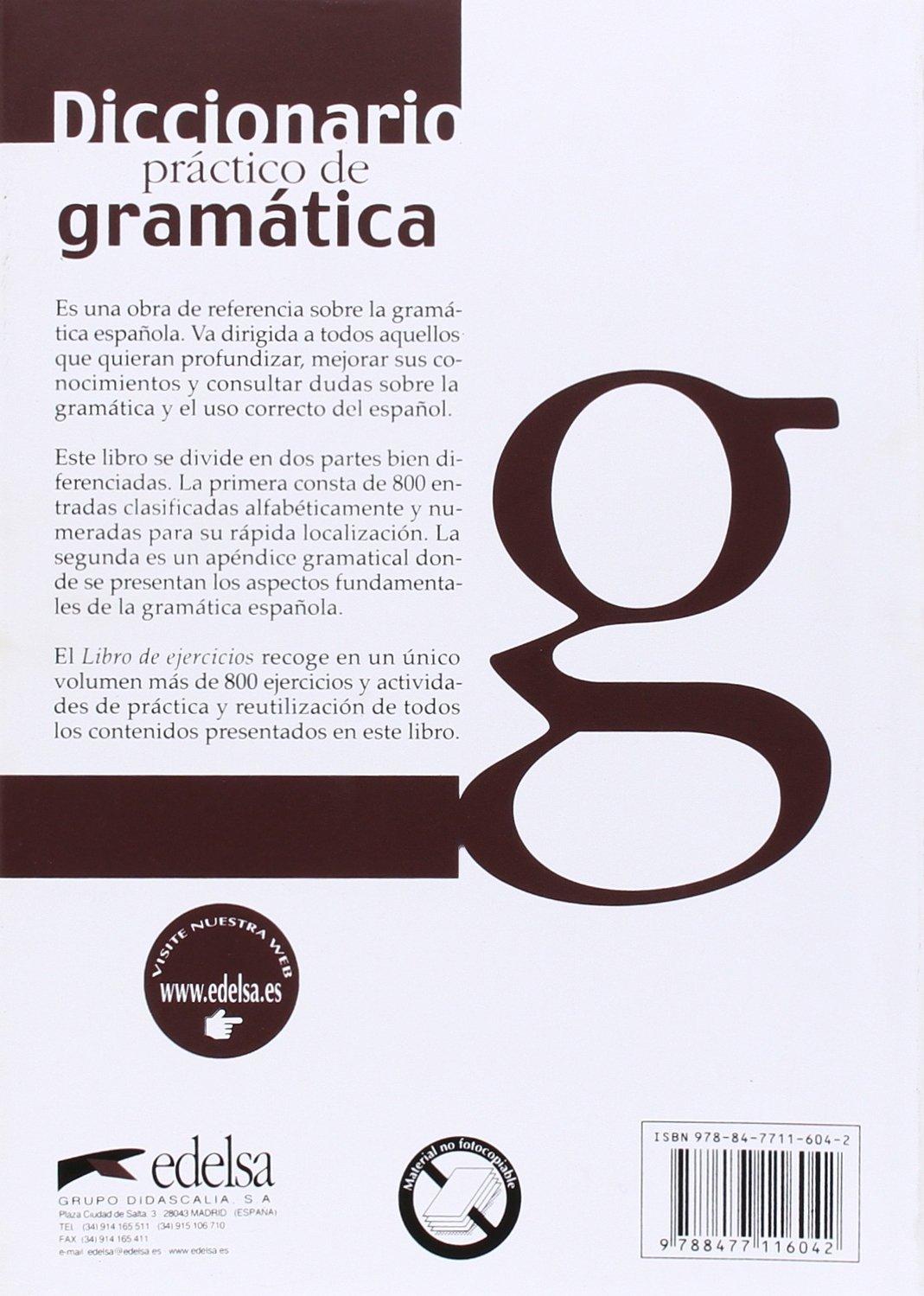 Amazon diccionario practico de gramatica spanish edition amazon diccionario practico de gramatica spanish edition 9788477116042 oscar cerrolaza books fandeluxe Gallery